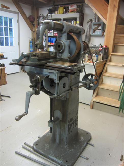 Photo Index - Brown & Sharpe Mfg. Co. - No. 0 Plain Milling Machine | VintageMachinery.org