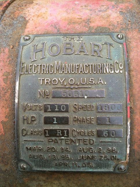Photo Index - Hobart Manufacturing Co. - 1910 Meat Grinder ...
