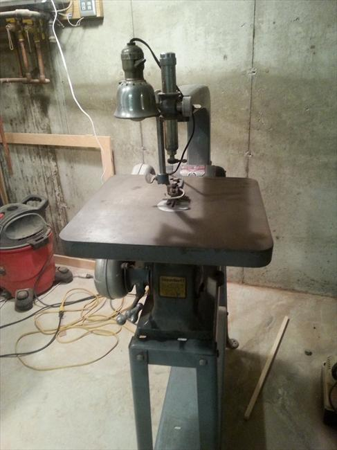 Photo Index Delta Manufacturing Co 24 Quot Scroll Saw