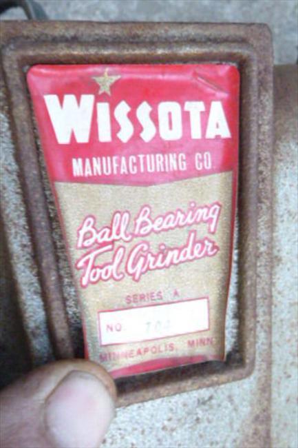 Photo Index Wissota Manufacturing Co 704