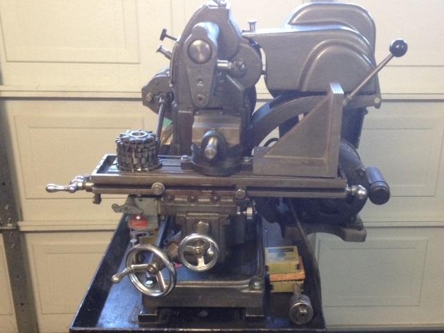 Photo Index Atlas Press Co Mfc Atlas Horizontal Milling Machine