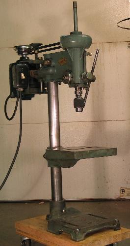 Photo Index Walker Turner Co Inc Drill Press Model