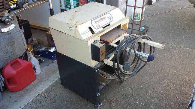 foley belsaw planer molder machine
