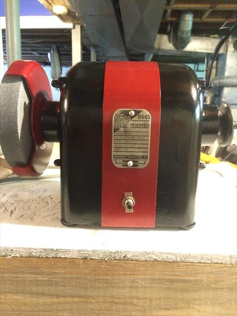 Photo Index Thor Power Tool Co B66s Model 5683 Bench