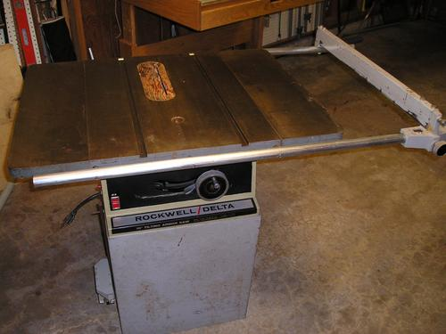 Photo Index Rockwell Manufacturing Co 34 300 10 Tilting Arbor Table Saw Vintagemachinery Org