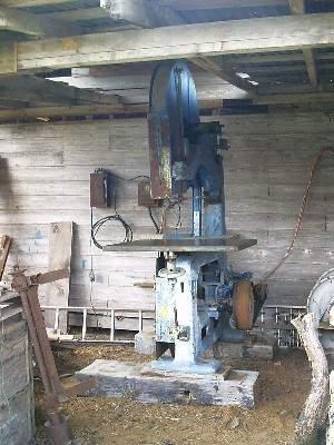 Photo Index J A Fay Amp Egan Co Model No 58 Bandsaw