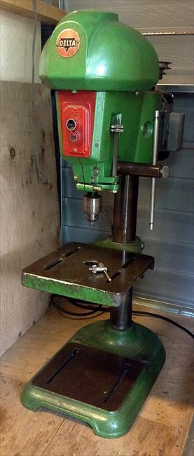 Photo Index - Rockwell Manufacturing Co  - Delta Drill Press model