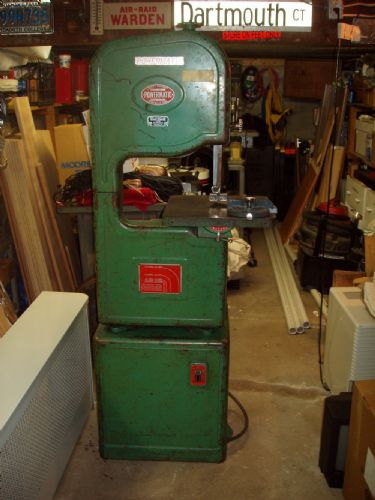 Photo Index Powermatic Machine Co Model 143 Bandsaw