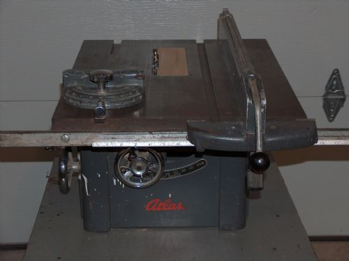 Photo Index Atlas Press Co 3020 Tilt Arbor Bench Saw