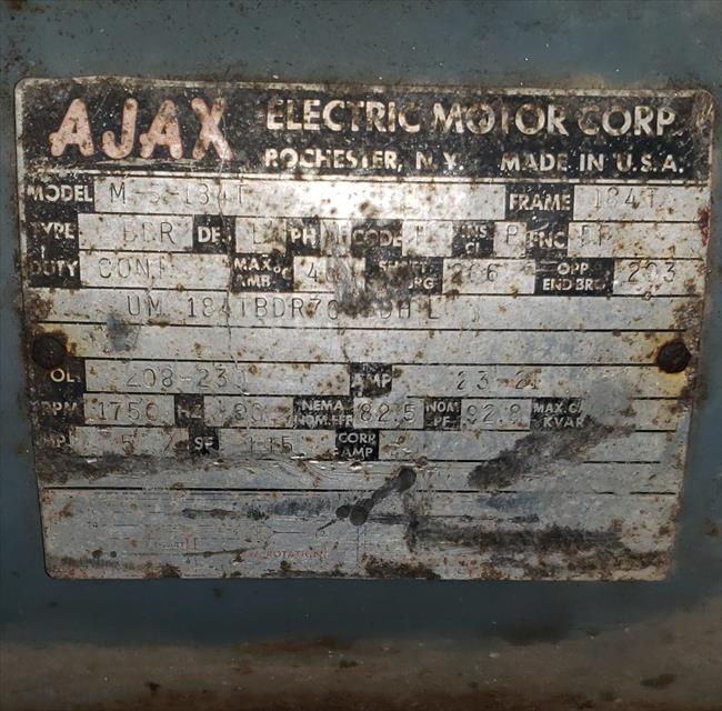 Photo Index - Ajax Electric Motor Corp