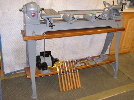 Photo Index - Delta Manufacturing Co. - wood Lathe Model ...