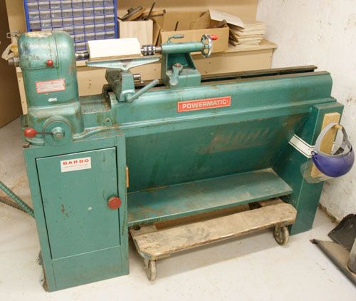 Photo Index Powermatic Machine Co Model 45 Lathe