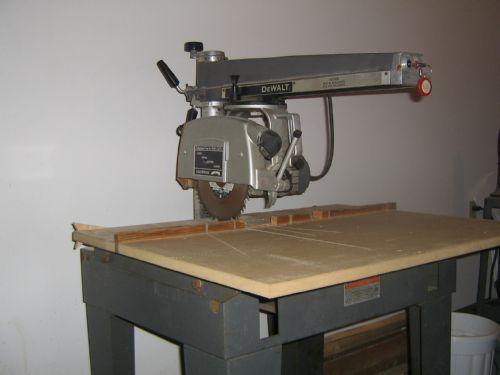 black and decker radial arm saw 7740 manual