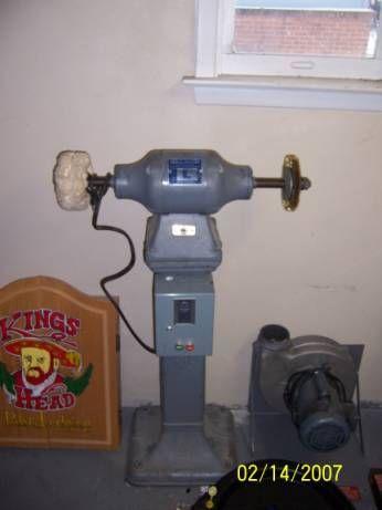 Baldor Bench Grinder Pedestal
