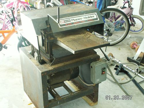 Sears Craftsman Jointer Manual