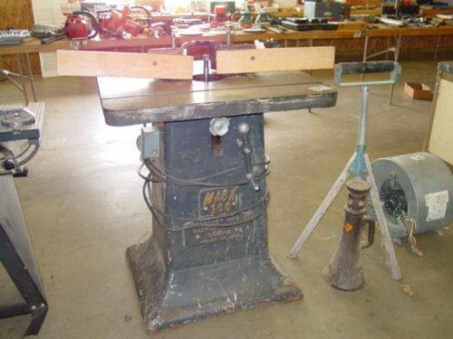 Photo Index - McCartney Manufacturing Co. - MACK 100 single spindle shaper | VintageMachinery.org