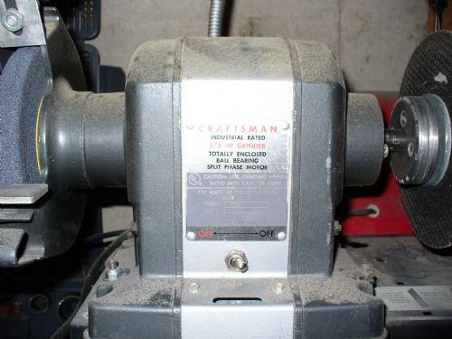 Photo Index Sears Craftsman 1 3hp Bench Grinder Design C2371