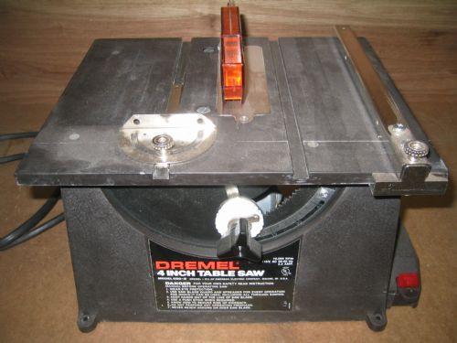 Photo Index - Dremel Manufacturing Co. - 580-2 Motorized Bench Saw |  VintageMachinery.org