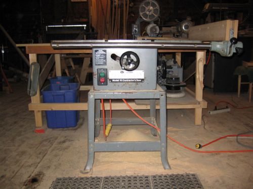 Rockwell Model 10 Contractors Table Saw Design Ideas