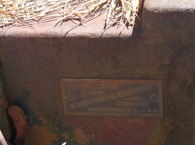 Photo Index American Wood Working Machinery Co No