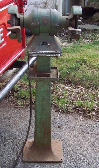Photo Index Stanley Works Stanley Electric Tools Pedestal Grinder Vintagemachinery Org