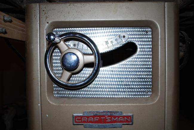 Photo Index Sears Craftsman 103 22450 Cabinet Saw