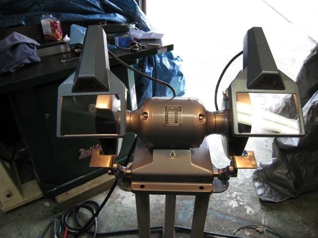 Photo Index Diehl Manufacturing Co Zp 48 7 Bench Grinder Vintagemachinery Org