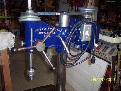 Photo Index Buffalo Forge Co No 15 Floor Model Drill Press Vintagemachinery Org