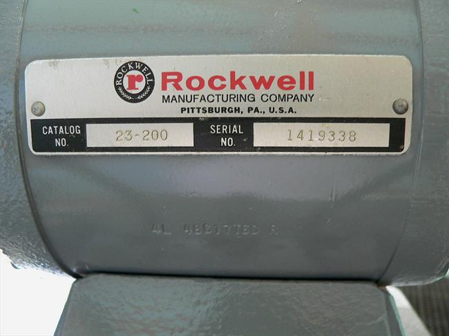 Photo Index Rockwell Manufacturing Co 23 200