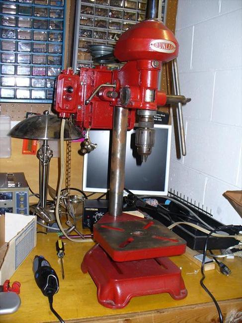 Photo Index Sears Dunlap 101 03541 Bench Drill Press